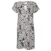 Fashionize Jurk Chelsey Leopard Wit