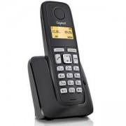 Безжичен DECT телефон Gigaset A120 DUO, Черен, 1015071