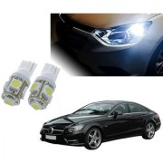 Auto Addict Car T10 5 SMD Headlight LED Bulb for Headlights Parking Light Number Plate Light Indicator Light For Mercedes Benz CLS-Class