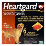 Heartgard Plus for Large Dog 51-100lbs (Brown) 6 Doses