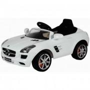 Mercedes-Benz SLS AMG - fehér elektromos kisautó