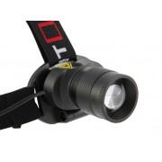 LED-Stirnlampe Velamp IH530 Reichweite bis zu 60 m praktisch mit Zoomfunktion