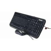 Kit Tastatura + Mouse Cu FIr Microsoft 600 Negru