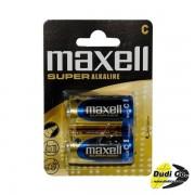 Maxell super alkalna baterija blister LR14
