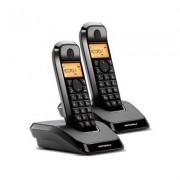 Telefono Inalambrico DECT MOTOROLA S1202 Duo Startac Negro