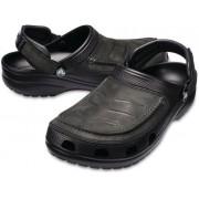 Crocs Men's Yukon Vista Clog Black/Black 48-49