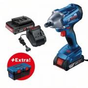 Akumulatorski udarni odvrtač Bosch GDS 250-LI + kutija za alat PRO (0615990L2C)