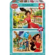 Puzzle pentru copii Elena de Avalor 2x100 piese 17402