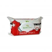 Servetele umede Doctor Wipe's Antibacteriene cu capac 72 file