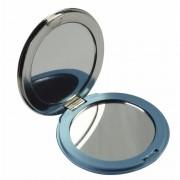 Merkloos Zak spiegeltje blauw