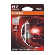 Osram Night Breaker Silver H7 12V 55W +100% autó izzó