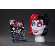 DC Comics Set libro y máscara Harley Quinn - DC Comics