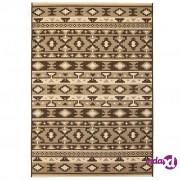 vidaXL Unutarnji/vanjski ukrasni tepih s izgledom sisala 120x170cm folklorni uzorak