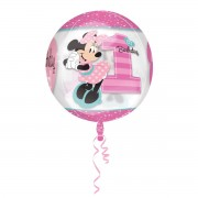 Balon folie transparent Minnie Mouse 38 x 40 cm