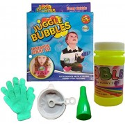 Plutofit® Juggle Bubble with 2 Gloves & Blower For Non-Popping Bubbles- Multi Color