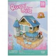 Puzzle 3D Casuta rurala 132 piese