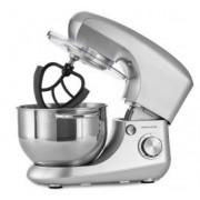 Robot tip Malaxor Andrew James AJ001366, 1400W, Bol Inox 5,5 Litri, 5 Accesorii fara BPA