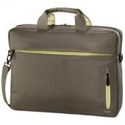 Чанта за лаптоп HAMA Marseille Style, 15.6, Кафяв/Жълт, HAMA-101785