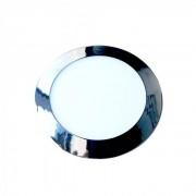 V-TAC Pannello LED Rotondo 24W SMD Cromato da incasso con Driver