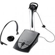 Plantronics Telefonní headset Plantronics S12, zásuvka RJ10, černá, stříbrná