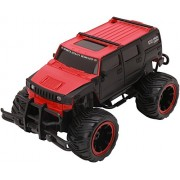 Akshit Remote Control Mad Racing Cross Country Big Hummer Style Truck 1:16 (Red)