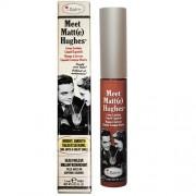 theBalm Lungă durată ruj lichid Meet Matt (e) Hughes 7,4 ml Chivalrous Bright Pink