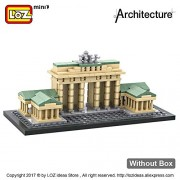 Generic LOZ Building Blocks Mini Architectural Models of Famous Buildings Brandenburg Gate Model Brick Educational Toy for Children 1011