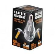 Fotolec Shatter Resistant Safety Bulb 100W Edison