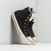 Converse Ctas Lift Ripple Hi Black/ Natural Ivory/ Rust Pink