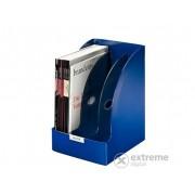 "Biblioraft Leitz ""Plus Jumbo"", plastic, 205mm, albastru"
