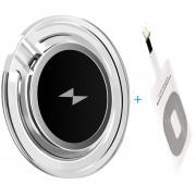 Transmisor de carga inalámbrico de 10W + receptor Qi para Apple iPhone 4 5 5S SE 6 6S 6 7 kit de almohadilla de cargador inalámbrico para Samsung(iphone Kit)