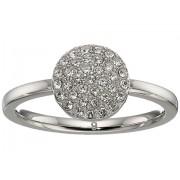 Michael Kors Pave Circle Ring Silver