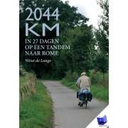 Reisverhaal - Fietsgids 2044 km in 27 dagen op een tandem naar Rome   Wout de Lange