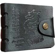New Vintage Style Men Leatherlite Bifold Wallet. (001)