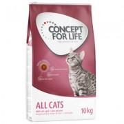 Výhodné balení: 2 x velké balení Concept for Life granule - Sterilised Cats (2 x 3 kg)