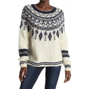 Line Helga Wool Blend Sweater BLIZZARD