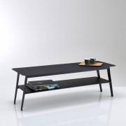 Lage tafel met dubbel plateau in metaal, Hiba