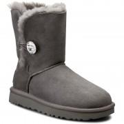 Pantofi UGG - W Bailey Button Bling 1016553 W/Grey