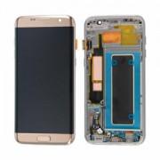 Ecran Display Samsung Galaxy S7 Edge G935f Gold Oled Nou
