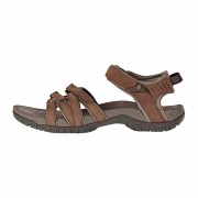 Teva TIRRA LEATHER Frauen Gr.5 - Outdoor Sandalen - braun grau