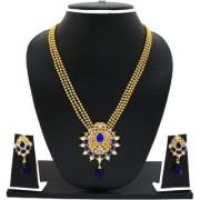 Zaveri Pearls Designer Haram Necklace Set-ZPFK2694