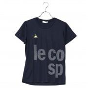 【SALE 50%OFF】ルコックスポルティフ LE COQ SPORTIF レディース 半袖機能Tシャツ 半袖シャツ QMWLJA11 レディース