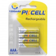 EH Pkcell Que El 4PCS-1200mAh Ni-MH 1.2V-AAA Batería Recargable