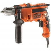 Black and decker trapano a percussione reversibile kr604cresk 600 watt