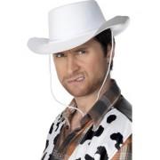 Palarie Cowboy alba