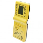 Vintage Lcd Electronic Brick Game Classic Tetris Handheld Pocket Toy 9999 In 1
