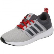 Adidas Men's Gray Lace-up Training Shoes