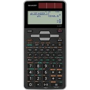 Calculator stiintific, 10 digits, 400+ functiuni, 161x80x15 mm, dual power, SHARP EL-520TGGY - gri