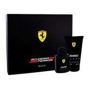 Ferrari Scuderia Ferrari Black confezione regalo Eau de Toilette 75 ml + doccia gel 150 ml uomo