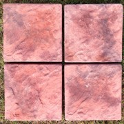 Autumn Plum Paver - Set of 4
